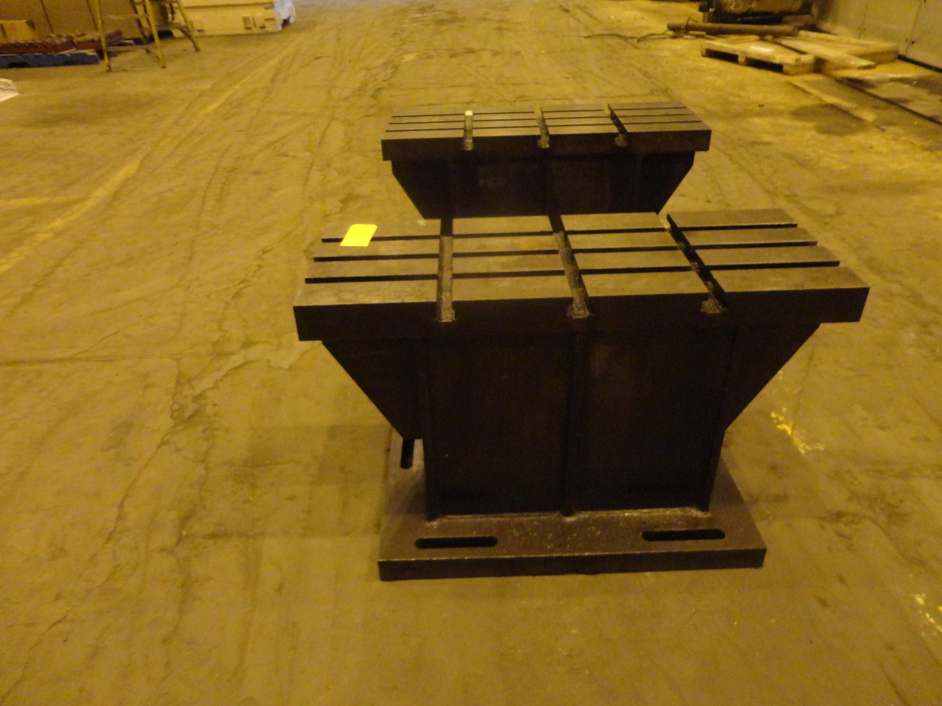 """Set of 2 T-Slotted Riser Blocks Knee Hold Down Plates 42""""L x 16"""" W x 25""""H - Image 3 of 13"""