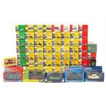 Property of a deceased estate - fifty-nine Vanguard die-cast toy model vehicles, all boxed (59).