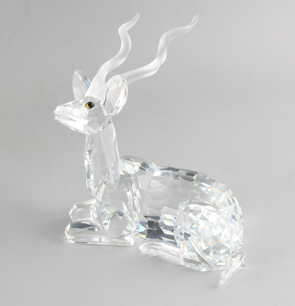A private collection of Swarovski crystal glass - Kudu, the 1994 Annual Edition 'Inspiration - Image 2 of 2