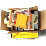 Property of a deceased estate - a quantity of Dinky Toys & later empty boxes (a lot).