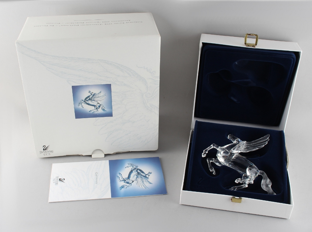 A private collection of Swarovski crystal glass - Pegasus, the 1998 Annual Edition 'Fabulous