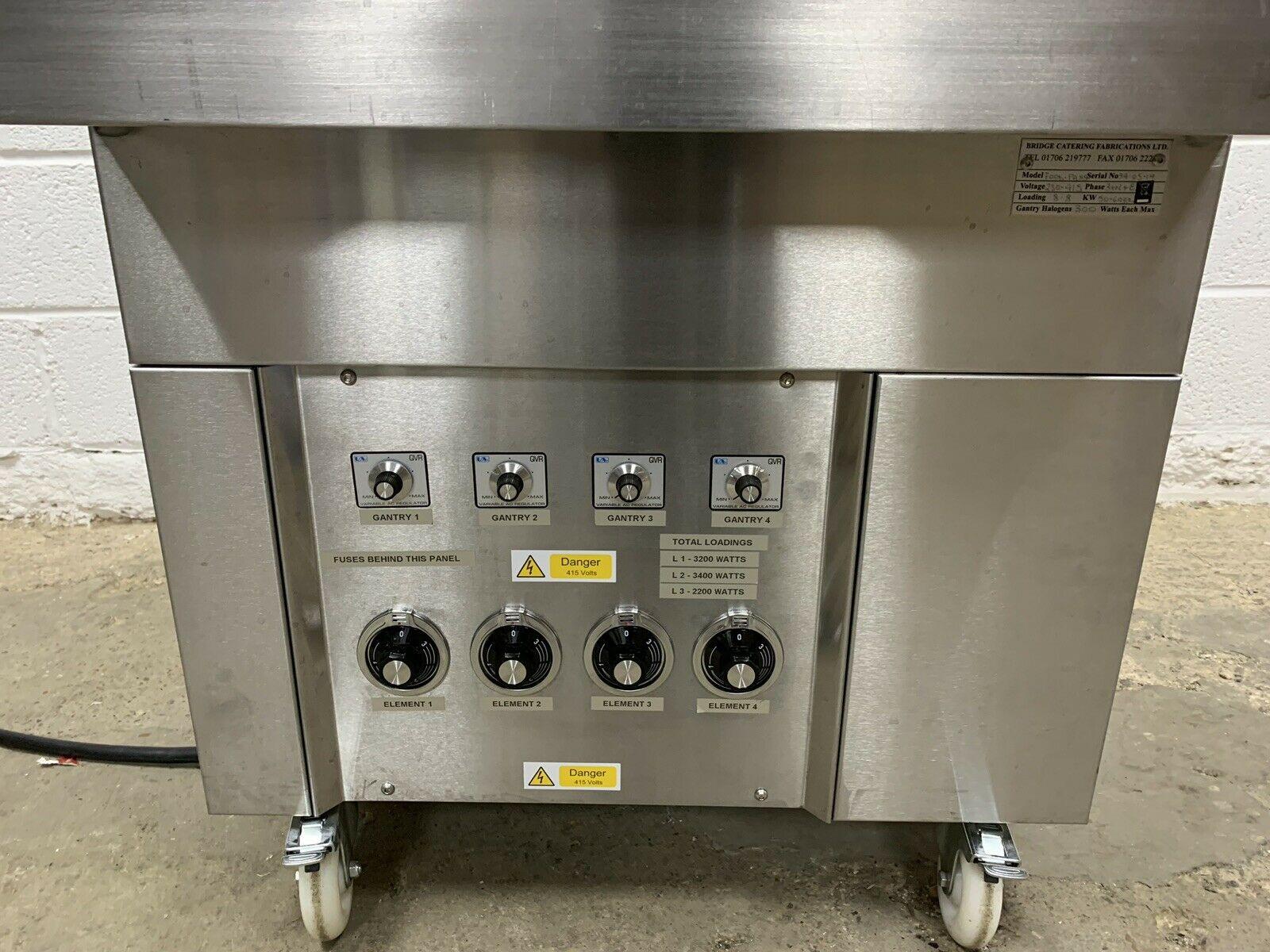 Lot 43 - Heated Gantry Food Chute Bespoke Built
