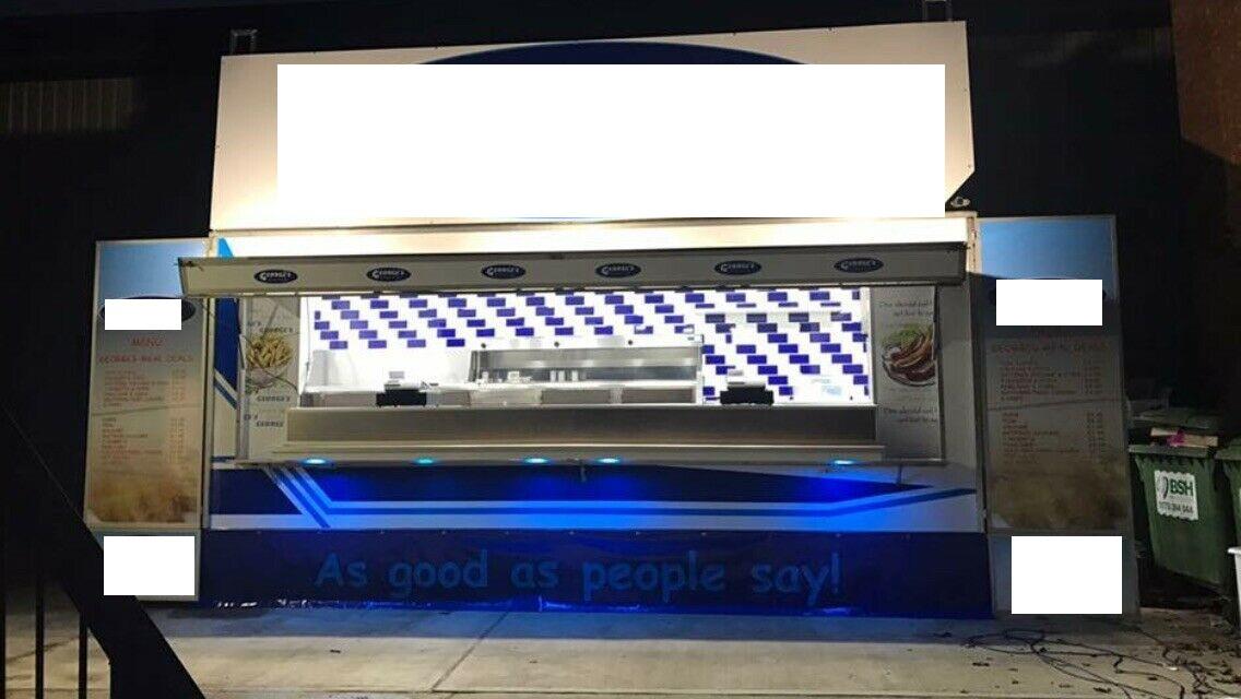 Lot 1 - Fish & Chip Bespoke Trailer