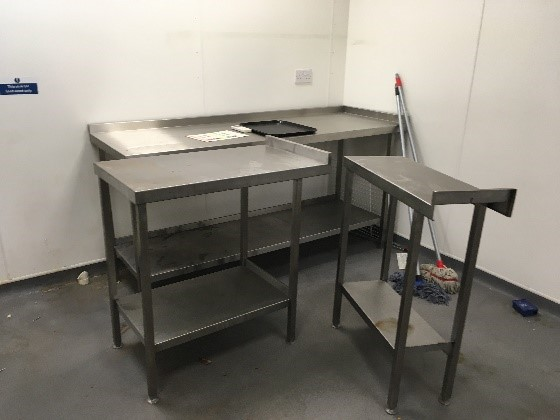 Lot 9 - Stainless Steel Kitchen Units