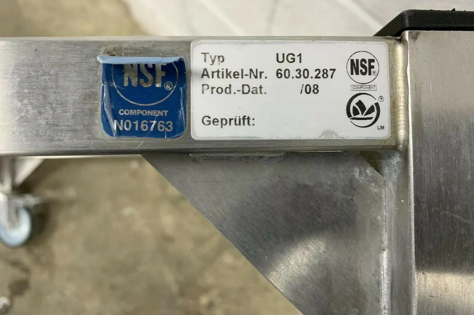 Lot 31 - Rational UG1 Double Stack Oven Trolley