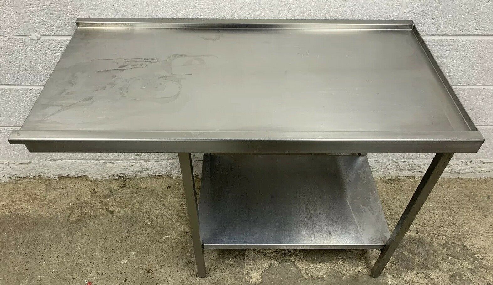 Stainless Steel Dishwasher Outlet / Exit Table - Image 3 of 4