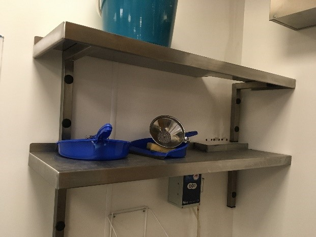 Lot 5 - Stainless Steel Shelving Units