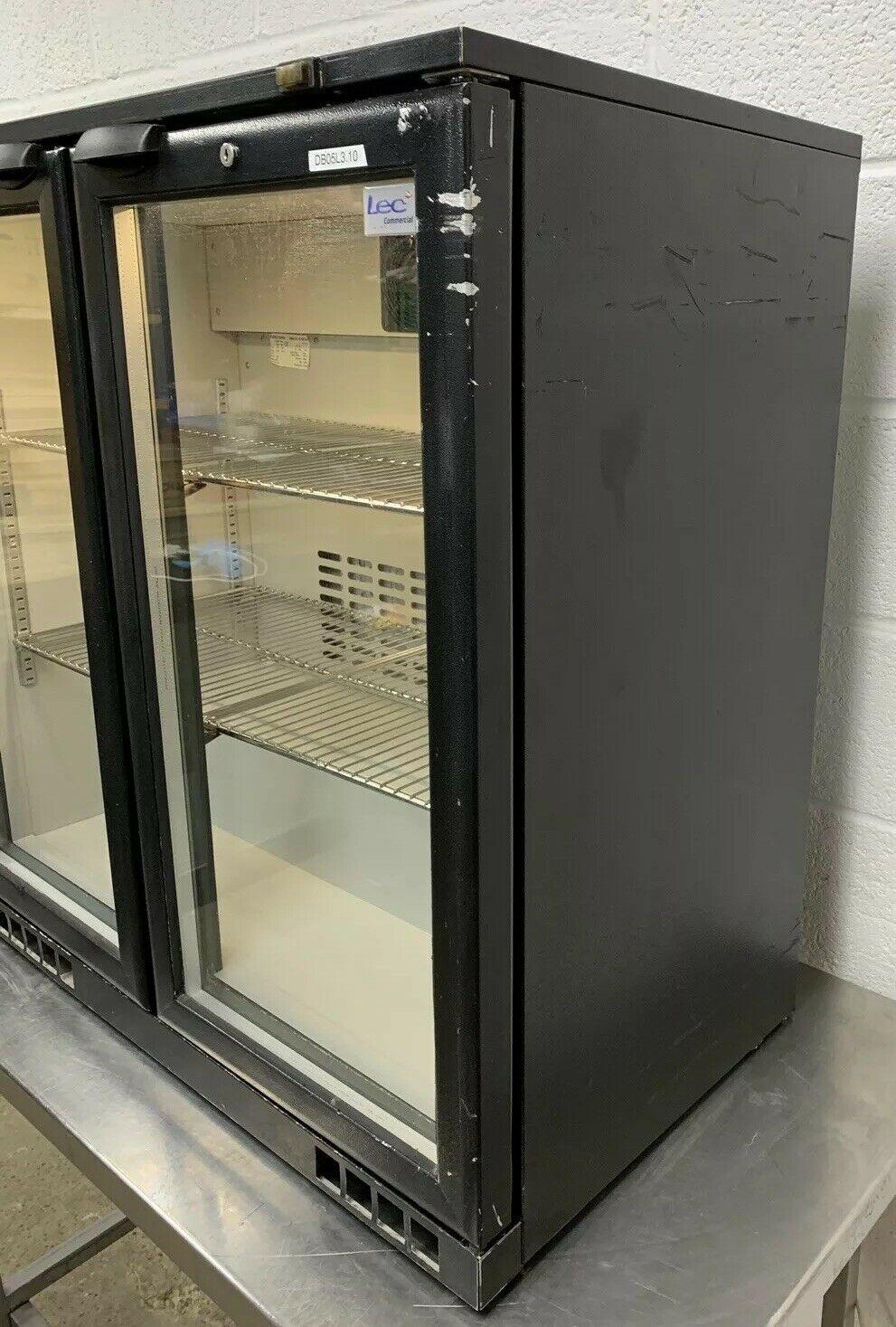 LEC BC9004K Double Door Drinks Display Fridge - Image 4 of 8