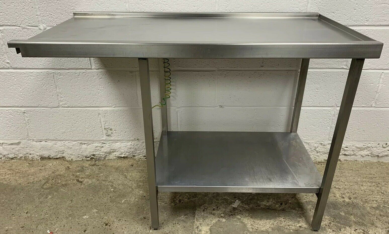 Stainless Steel Dishwasher Outlet / Exit Table