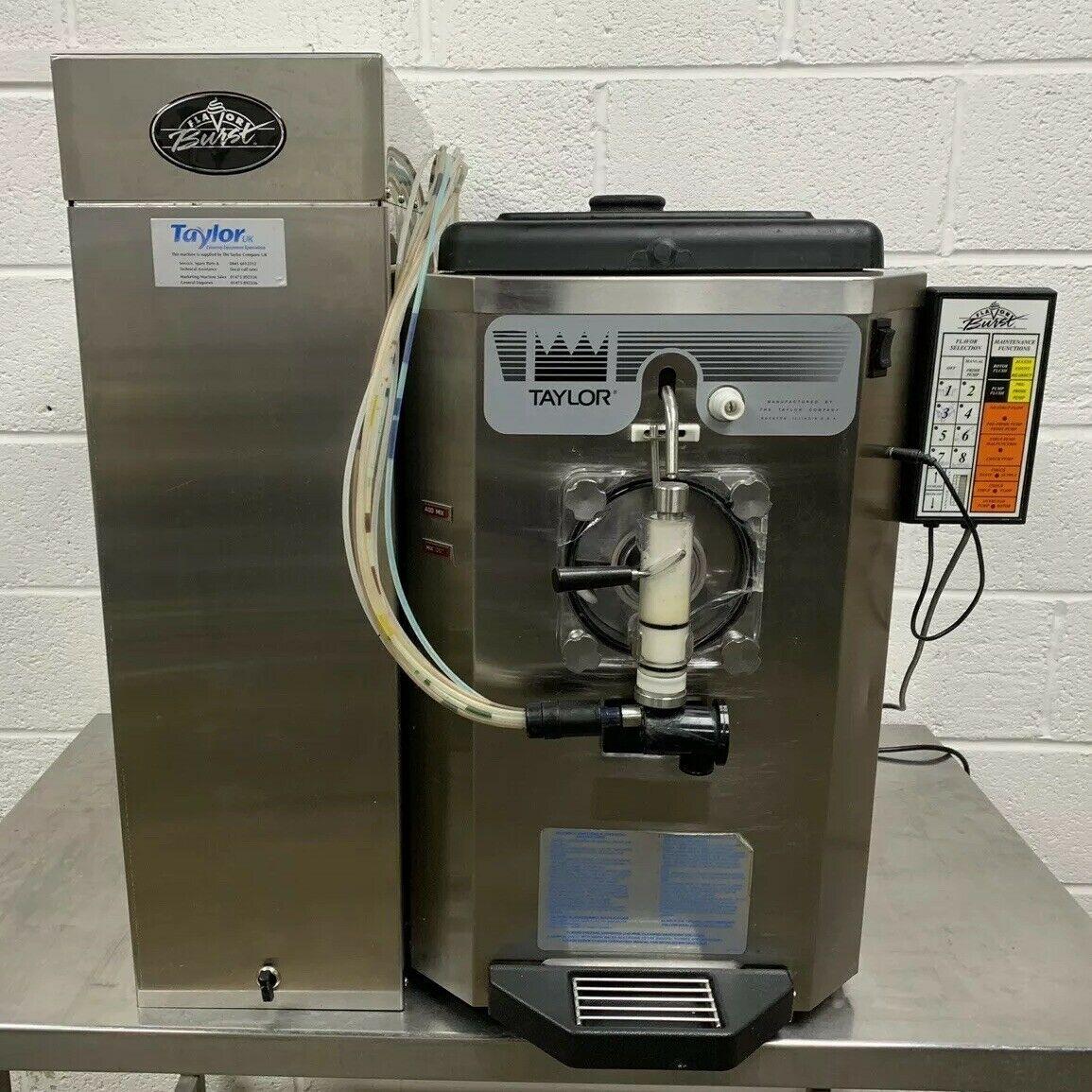 Lot 38 - Taylor 430 Frozen Drinks Machine With 8 Flavour Burst