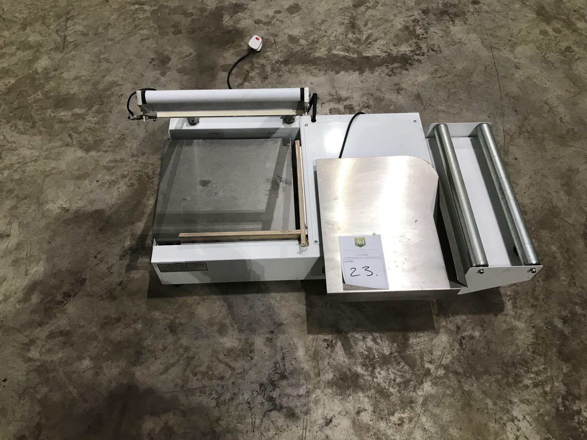 Lot 186 - Mantle food packaging machine