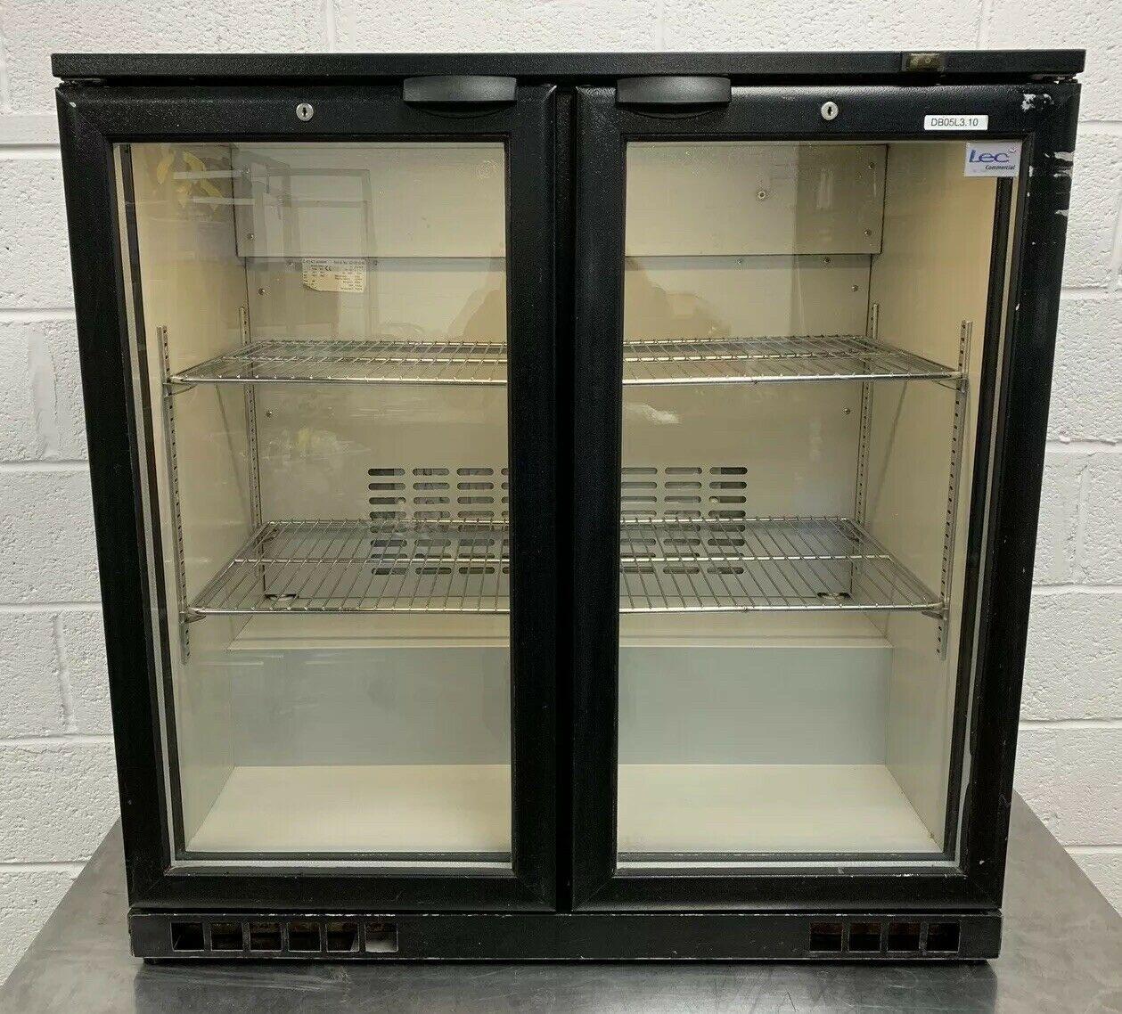 LEC BC9004K Double Door Drinks Display Fridge - Image 7 of 8