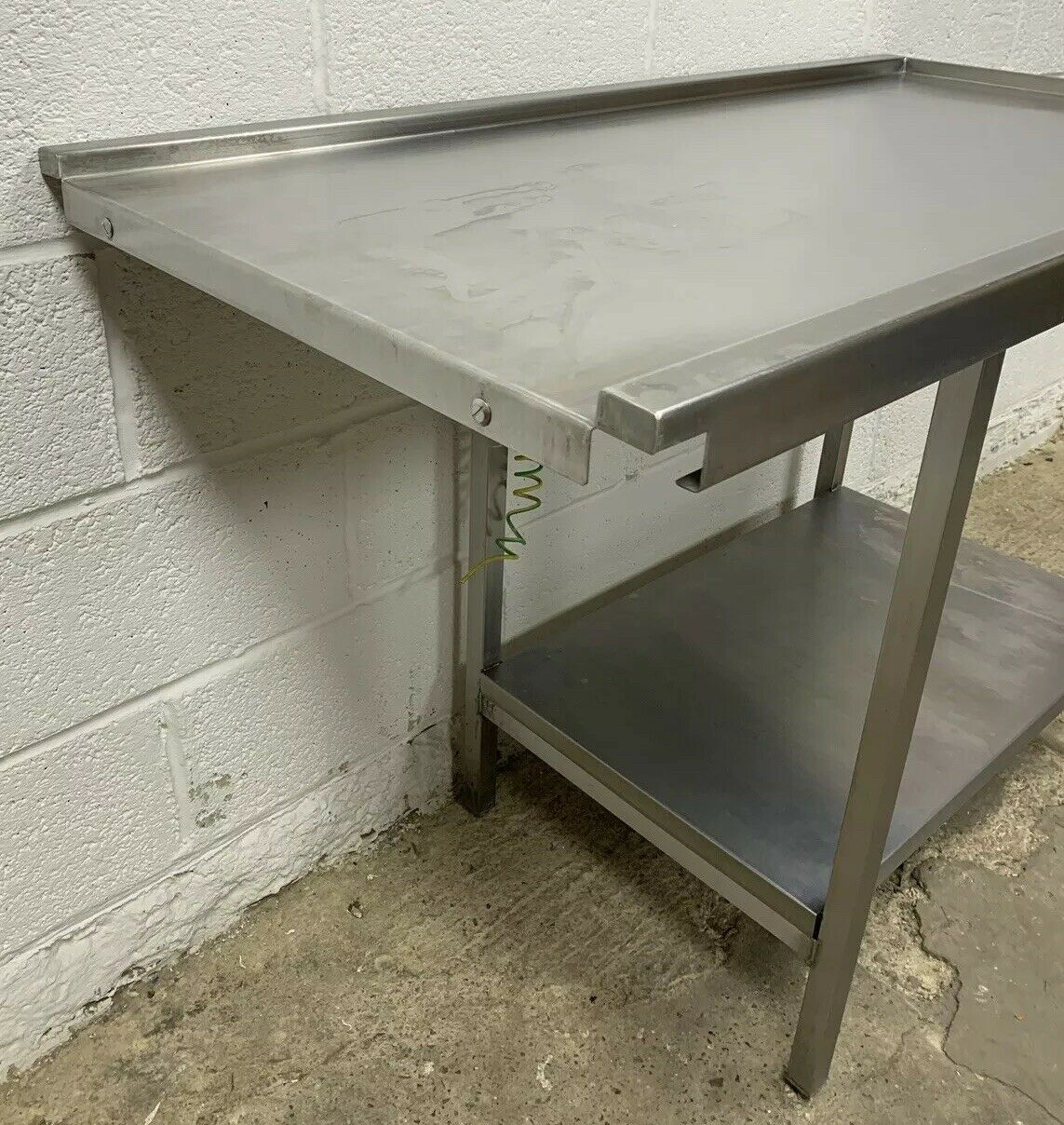 Stainless Steel Dishwasher Outlet / Exit Table - Image 2 of 4