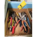 PLIERS, VISE GRIPS, WIRE CUTTERS