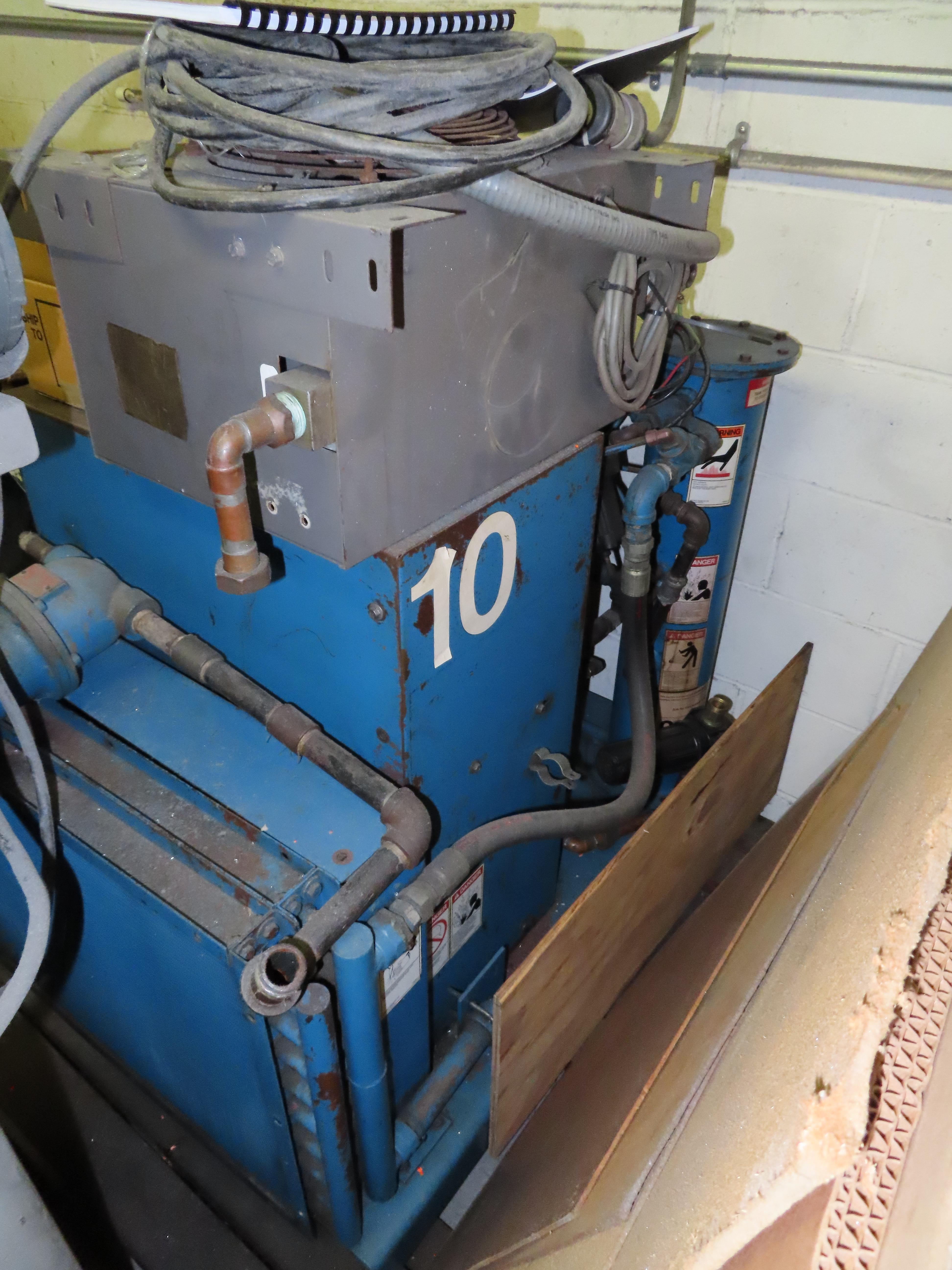 QUINCY MDL. QXB 10HP SCREW TYPE AIR COMPRESSOR, S/N: QXBCANA12C (AS IS) - Image 2 of 2