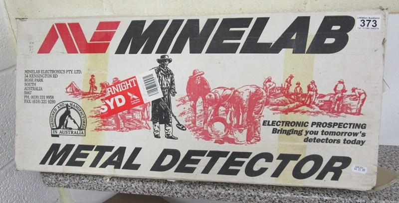 Lot 373 - Minelab XT 17000 Metal detector