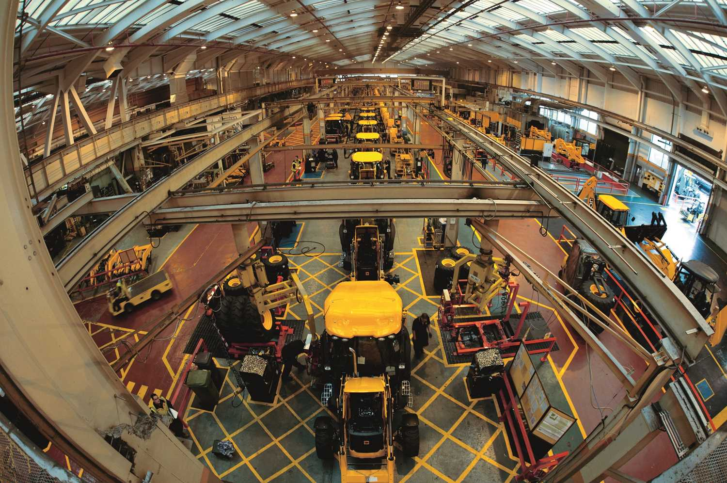 A VIP JCB Factory Tour for a Day with JCB's Managing Director, with a Delicious Organic Lunch for