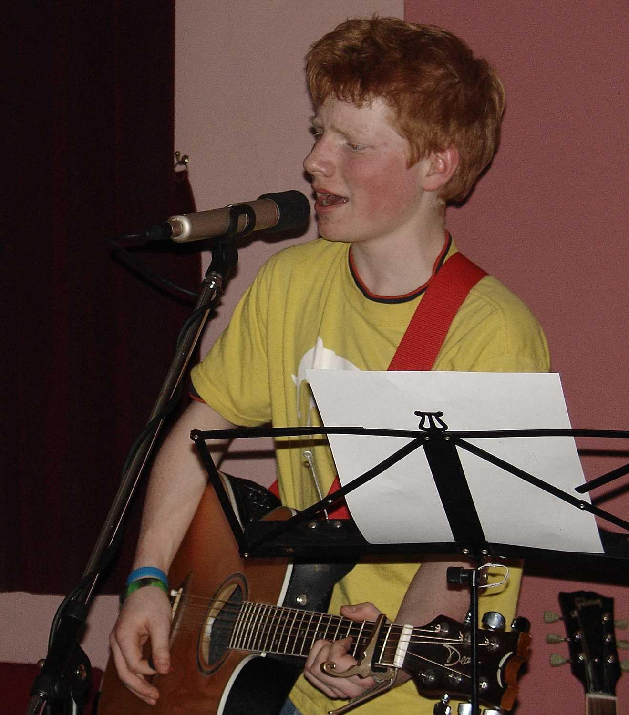 Ticket and Handbill for Ed Sheeran's First Public Gig 2005 Ed Sheeran's first public gig was - Image 3 of 3