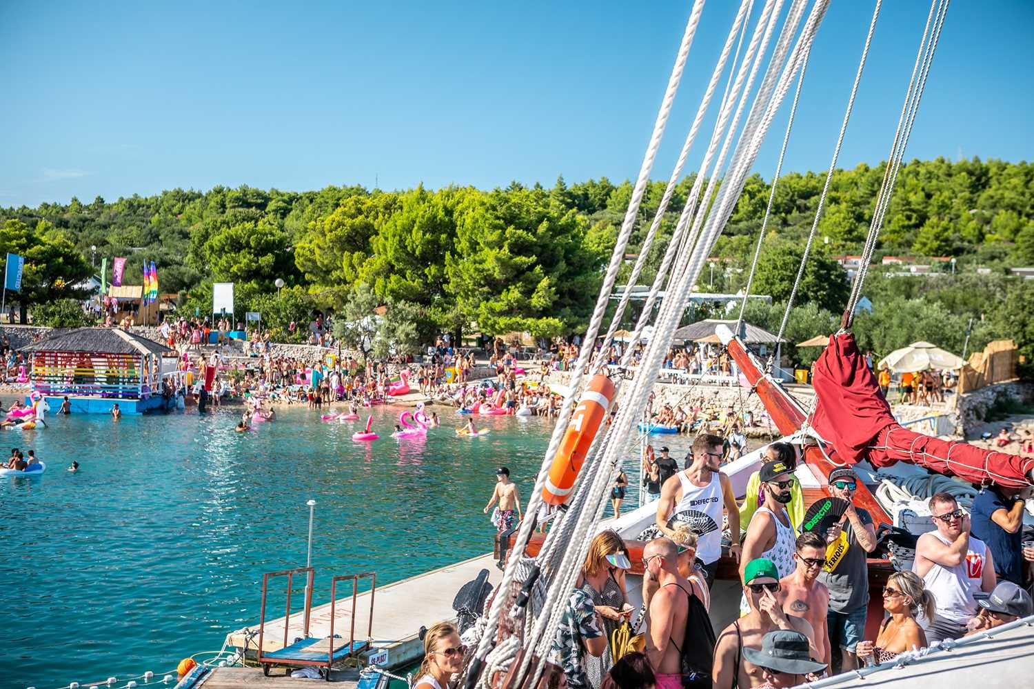 The Ultimate Music Festival Experience for 2 at Defected Croatia 2021, Plus Flights, Accommodation - Image 3 of 5