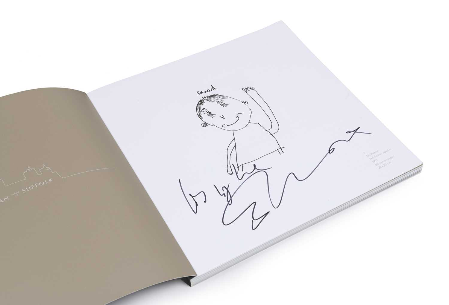Signed Ed Sheeran: Made in Suffolk Exhibition Book 2019 This book was written by Ed Sheeran's - Image 2 of 2