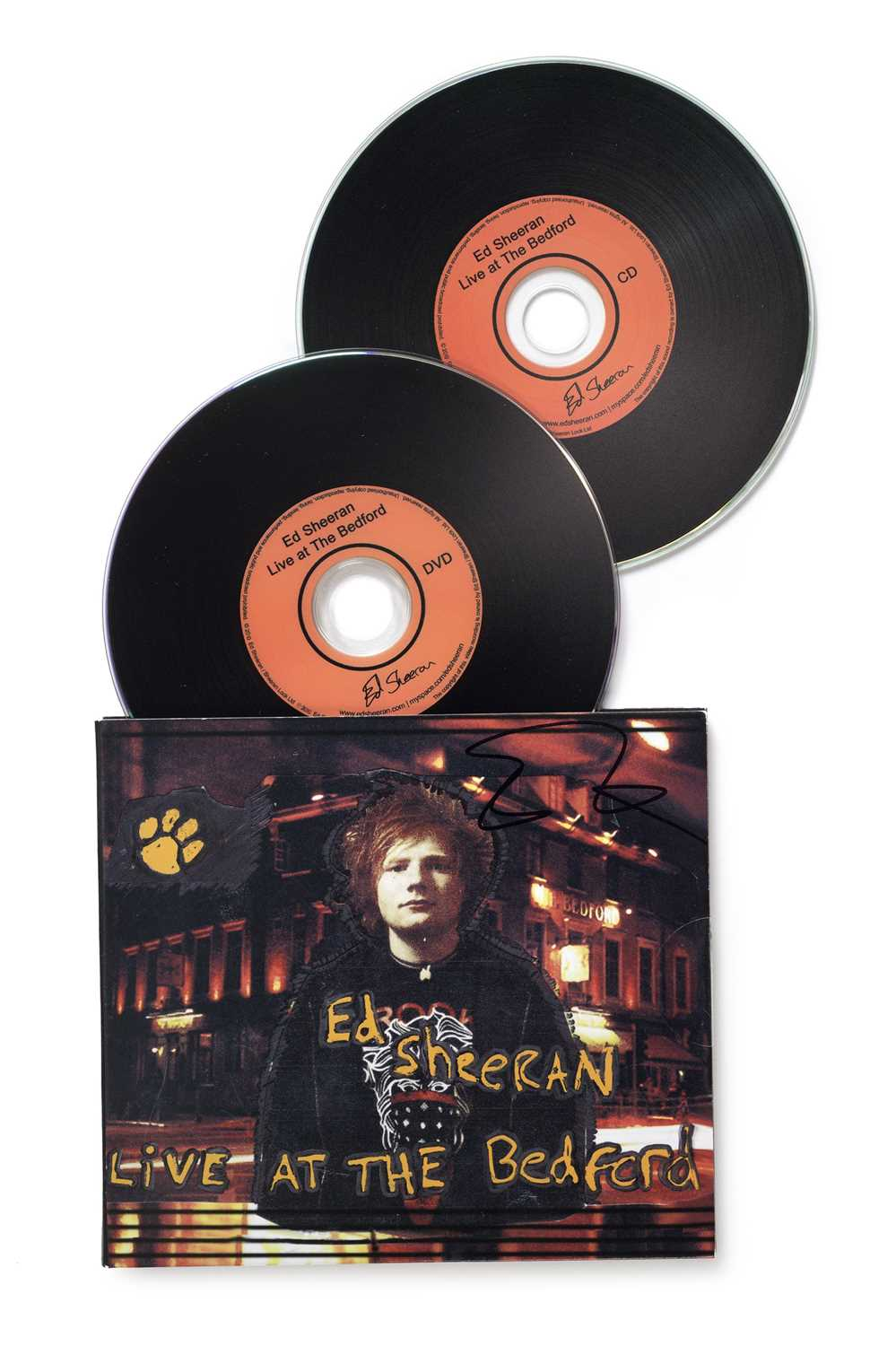 Signed Ed Sheeran Live at the Bedford CD & DVD 2010 A DVD and EP released independently by Ed