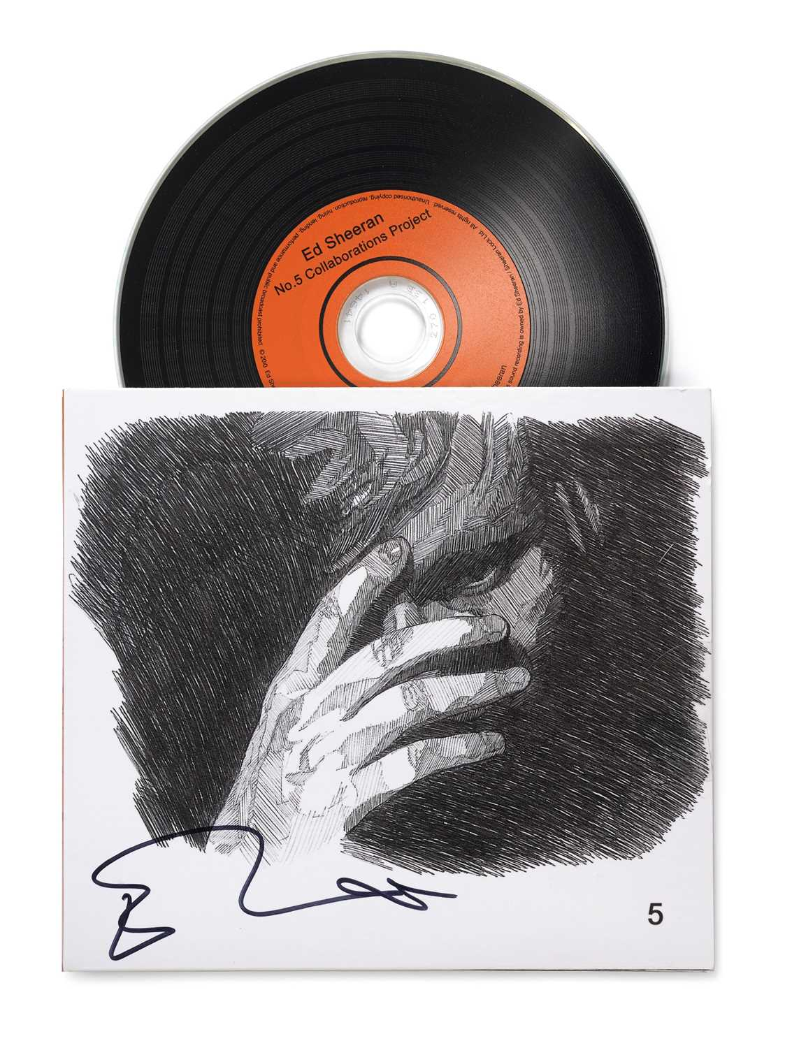 Signed Ed Sheeran No.5 Collaborations CD 2011 An EP released independently by Ed Sheeran in