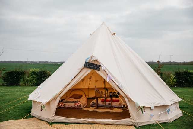 Events Under Canvas for 6 People, Delivered to Private Location in Essex,Suffolkor Norfolk Your