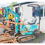 Kubota KX008 0.75 tonne micro excavator  Year:  S/N:  Recorded Hours: 3410  **sold as none runner**