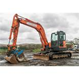 Doosan DX80R 8 tonne rubber tracked midi excavator Year: 2013 S/N: 6050944 Recorded Hours: 3960