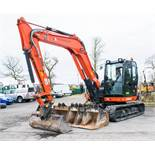 Kubota KX80 8 tonne rubber tracked midi excavator Year: 2018 S/N: 45742 Recorded Hours: 762