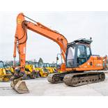 Doosan DX140LC 14 tonne steel tracked excavator Year: 2013 S/N: 50844 Recorded Hours: 6347 piped,