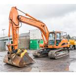 Daewoo Solar 175LC-V 17.5 tonne steel tracked excavator Year: 2005 S/N: 1159 Recorded Hours: 11,