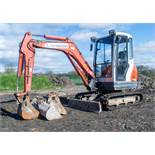 Kubota KX61-3 2.6 tonne rubber tracked mini excavator Year: 2006 S/N: 75311 Recorded Hours: 7076