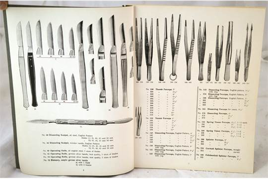 surgical instruments catalogue illustrated catalogue of surgical
