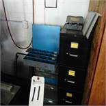 (Lot) Misc. Fasteners w/ Cabinets