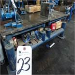 Steel Heavy Duty Welding Table, 4' x 8' x 33'' Tall