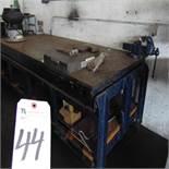 Steel Heavy Duty Welding Table, 4' x 9' x 3' Tall