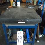 Granite Surface Plate w/ Stand, 36'' x 48''