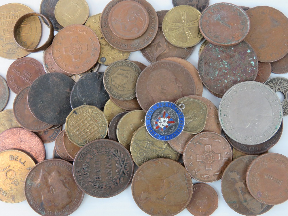 Lot 310 - A quantity of assorted copper and cupro-