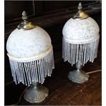 2 x Art Nouveau Style Table Lamps