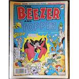 Vintage 10 x Comics Beezer & Topper 1993