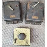 Vintage 3 x Model Railway Power Control Units Includes Hornby Dublo