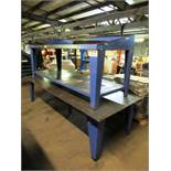 4' x 8' Steel Table & AXE Equipment Workbench