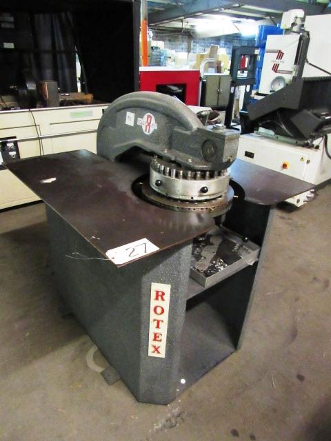 Rotex Model 20C3-50 24-Station Turret Punch, sn: 39934