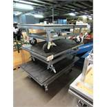 (3) Stainless Steel Portable Carts