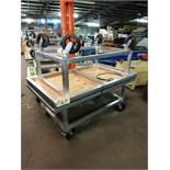 (2) Stainless Steel Portable Carts