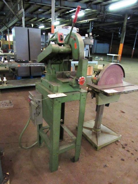 Toledo-Beaver-Tool Co. Speed Cut #110 Abrasive Chop Saw, sn:110-600-00897