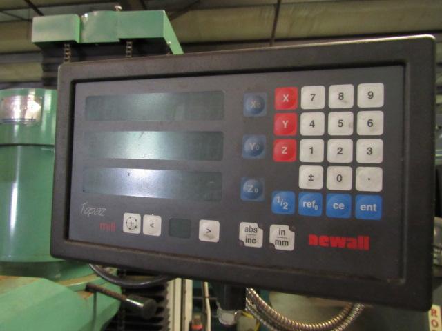 V10 Automotive Model BM-2V-86V Vertical Milling Machine - Image 5 of 6