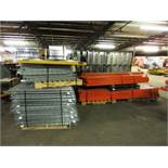 Approx 14 Sections of Pallet Racking with Grates