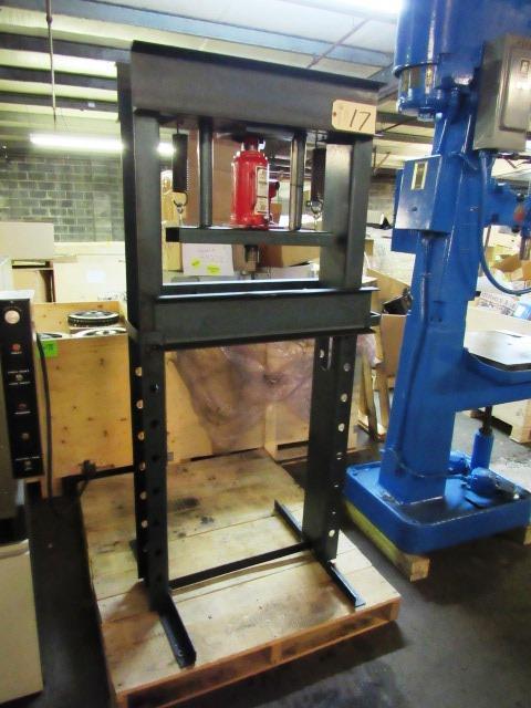 18'' Adjustable H-Frame Press